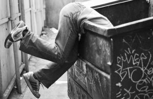 dumpster-dive